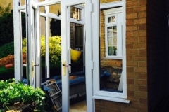 Fitting conservatory - installing windows and doors