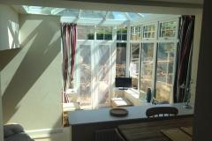 Interior decoration after conservatory installation