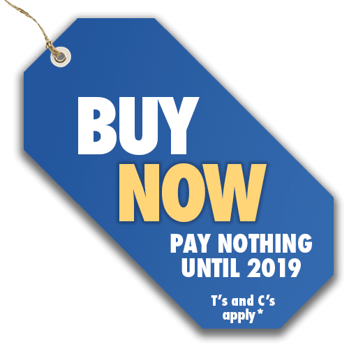 Buy Now Pay Nothing until 2019