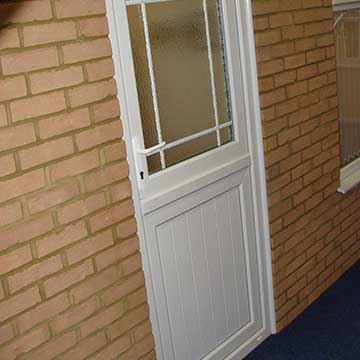 Front or back stable door
