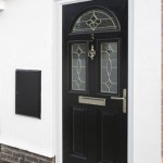Smart black composite door