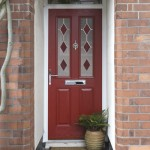 Composite door window detailing