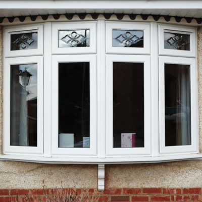 Double glazed uPVC bay windows