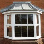 Double glazed sash bay windows