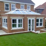 White Orangery with Sash Windows