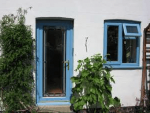 Replacement Pastel Blue Upvc Windows In Bedford Win Dor
