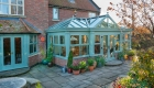 Chartwell Green gable orangery, windows and doors