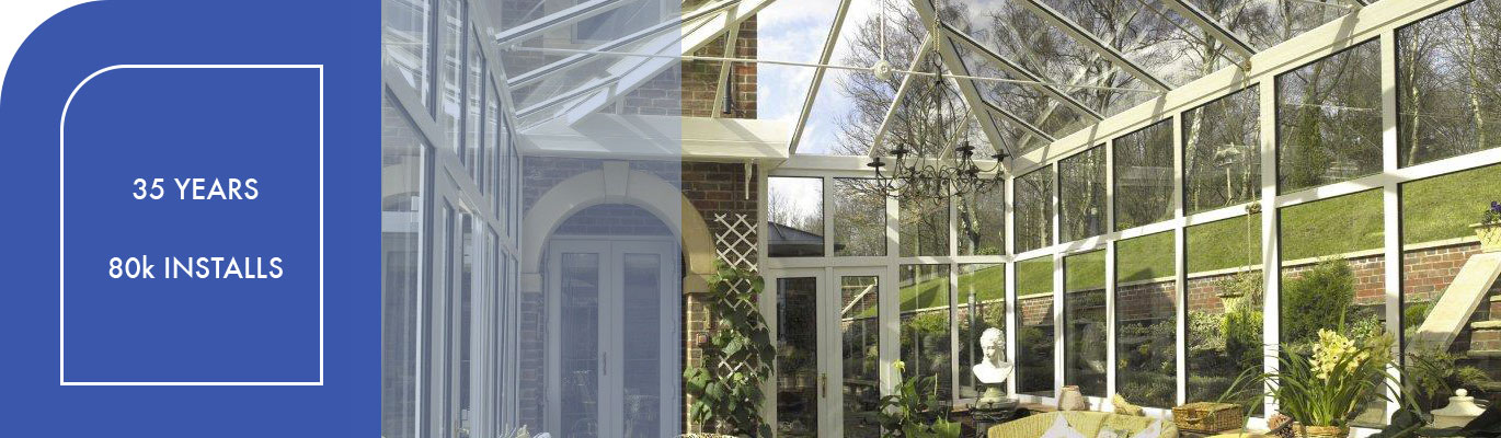 uPVC conservatory from inside