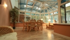 Large conservatories at the Northampton showroom