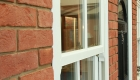 Sash windows in a double glazing showroom in Northampton
