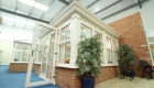 Modern uPVC orangery in showroom