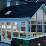 Black tiled roof conservatory- tiled roofs for conservatories