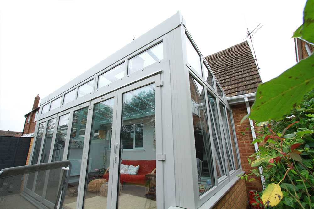 Reverse Lean To Conservatories Win Dor