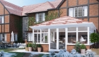 Solid tiled replacement conservatory roof