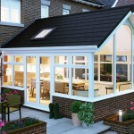 Solid tiled roof for a conservatory - are orangeries warmer than conservatories