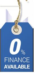 0% finance for Windows, Doors & Conservatories