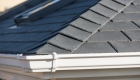 Grey solid tiled roof