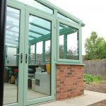 Chartwell Green uPVC Lean-to Conservatory