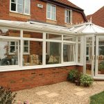 White P-Shaped uPVC Conservatory