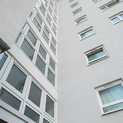 White Aluminium Windows