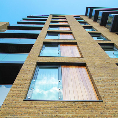 Aluminium Windows with Wood Panels