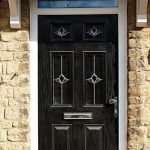 Black Timber Effect Composite Door