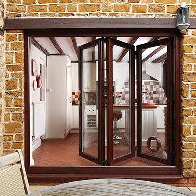 Rosewood Bifold Doors- patio door style