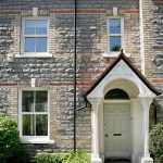 White uPVC Sash Windows