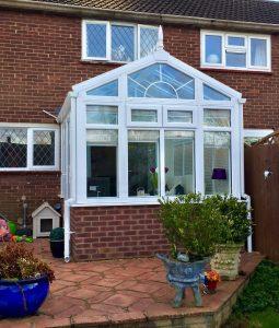 upvc gable conservatory