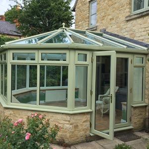 Conservatory in chartwell green