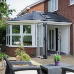 Replacement conservatory roof using solid tiles