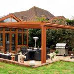 glass veranda- garden canopy