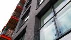 Aluminium windows apartment installation