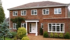 Aluminium casement windows detached home installation