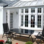 Aluminium casement bay window