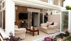 bifold doors open plan