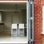 bifold doors residential exterior
