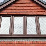 Cherrywood leaded casement windows