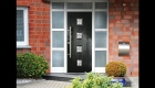 composite doors black gpr skin