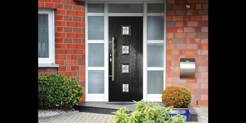 composite doors black gpr skin & Composite Doors | Win-Dor