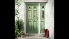 composite doors green upvc