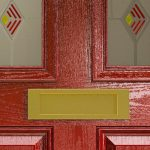 composite doors thermal close up