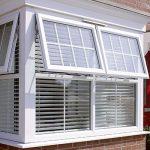 uPVC double glazed bay window