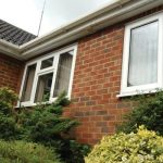 Double glazed uPVC white casement windows