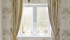 Double glazed uPVC bedroom casement window