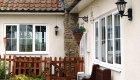 Double glazed uPVC bar windows house installation
