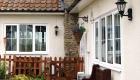 Double glazed uPVC bar windows house installation