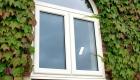 Double glazed window upvc