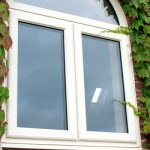 Double glazed window upvc