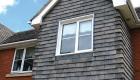 Double glazed uPVC casement window house installation